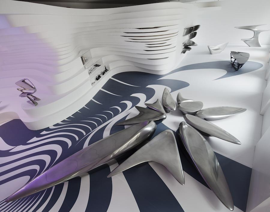 Zaha Hadid - Form in Motion exhibition