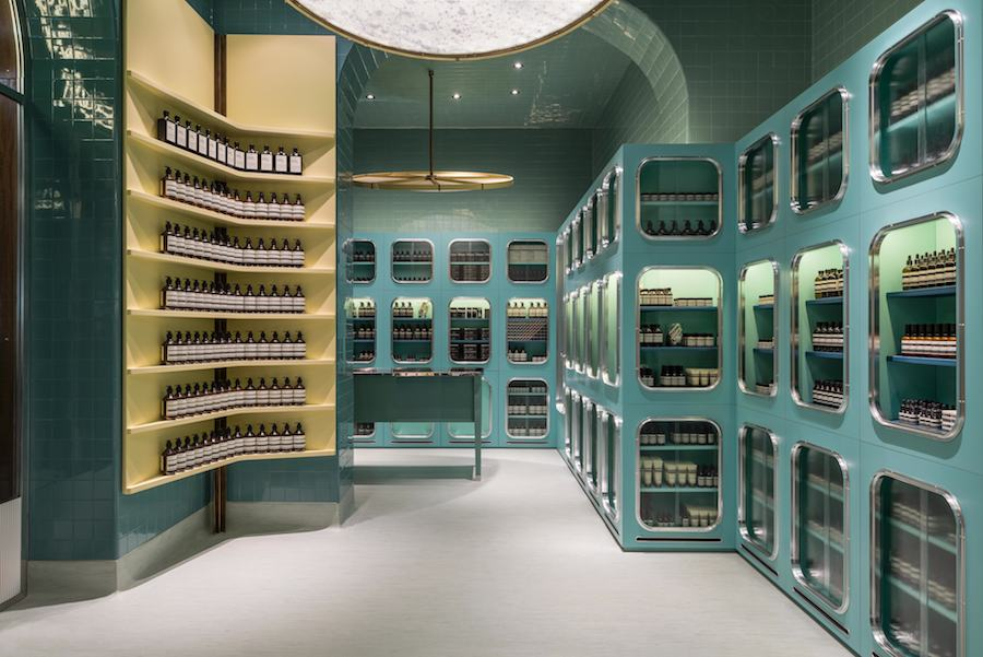 Aesop by dIMORE Studio in Milan - All photos by Fracesca Pensini, courtesy of Aesop.