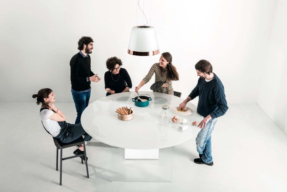 AIR kitchen by Lago + Elica