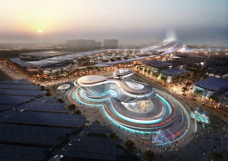 Dubai Expo 2020 - Mobilty Aerial
