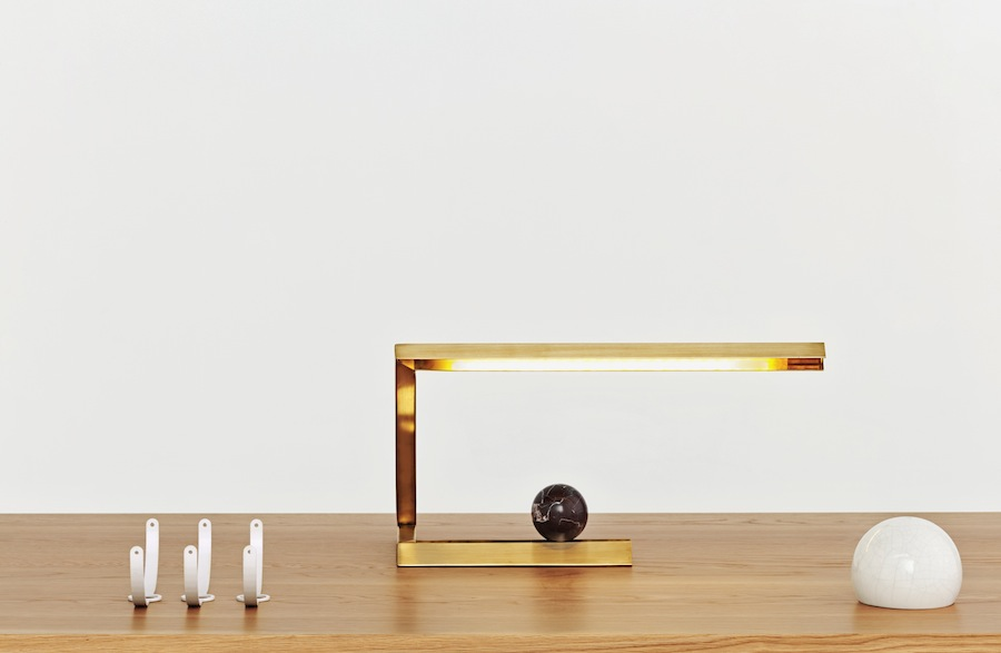 Resident Oud table light by Nat Cheshire