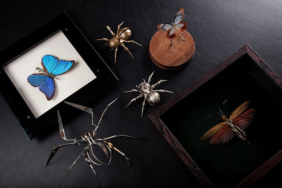 Mechanical Entomology @ M.A.D.Gallery Dubai - Photo: courtesy of MB&F.