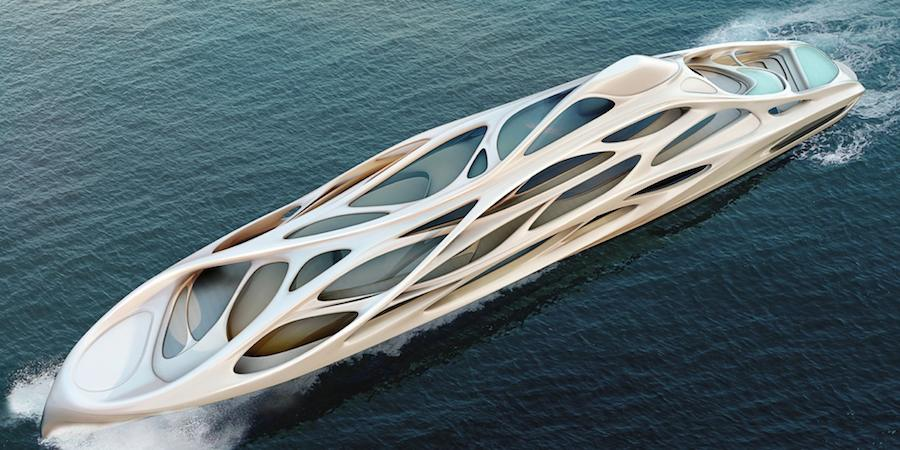 Zaha Hadid Super Yacht for Blohm+Voss.
