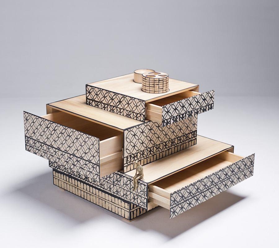 ALAMAK! DESIGN IN ASIA @ La Triennale - Cabinet by Naihan Li.