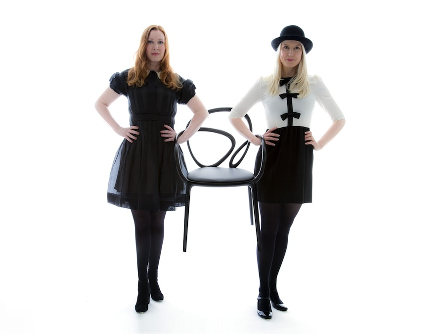 Anna Lindgren & Sofia Lagerkvist with Loop by Front (chair)_phToniMeneguzzo