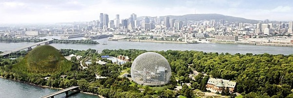 Dror's green globe at Montreal Expo '67