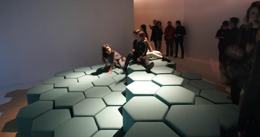 Lift-Bit Carlo Ratti Associati at Triennale.