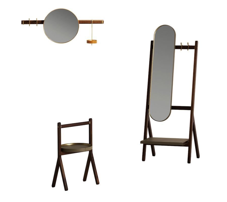 Ren_bar_coffee table_mirror coat rack