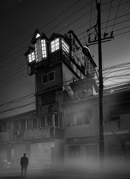 Shanghai a.k.a. Gotham city