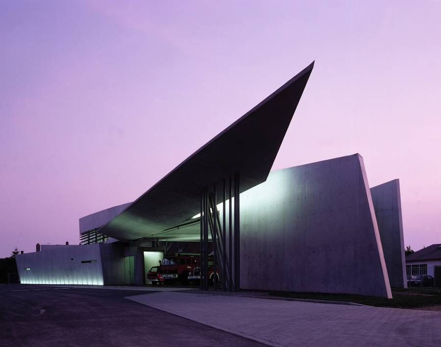 Vitra Fire Station - Photo by Christian Richters.