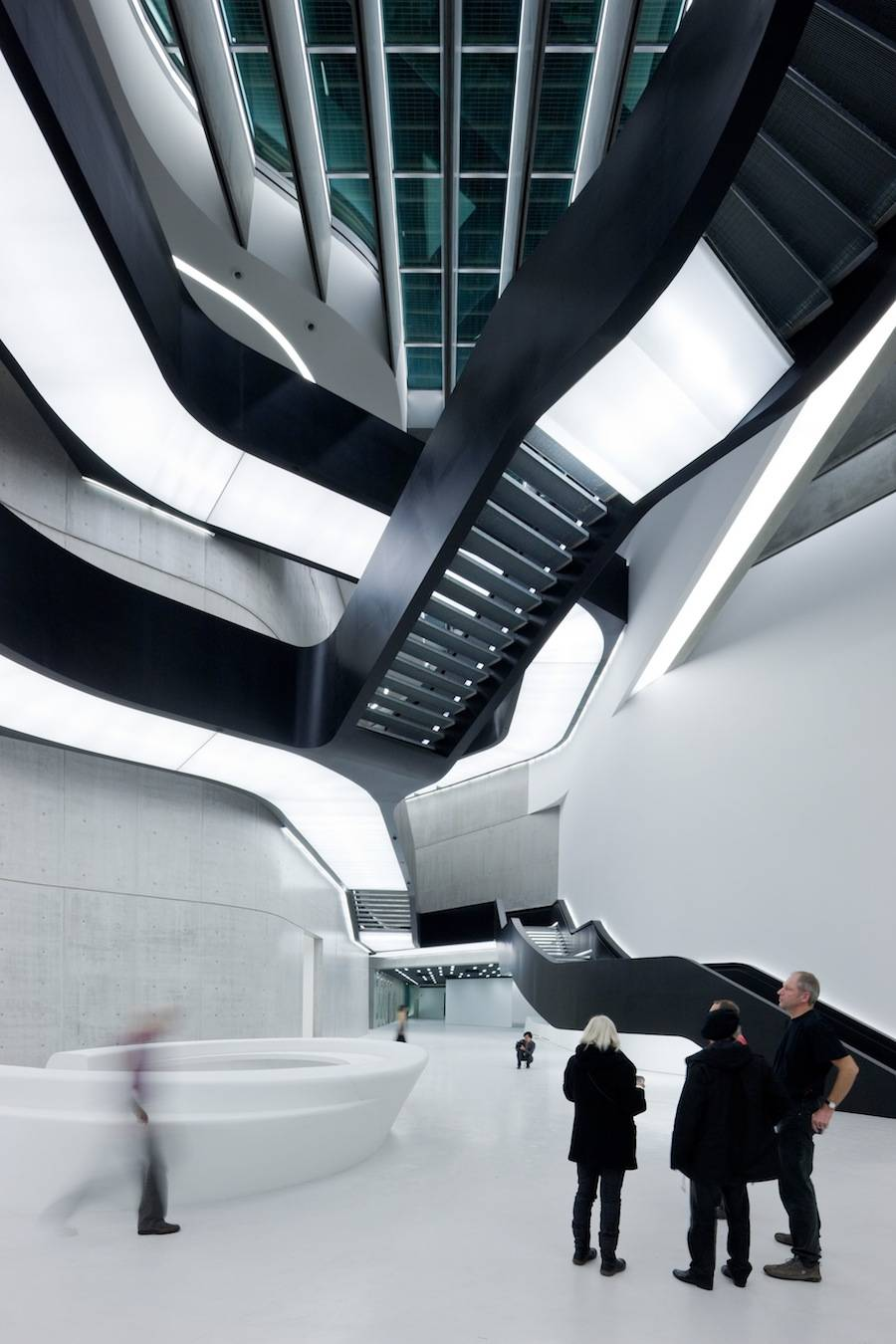 ZHA, MAXXI Rome (2009) - Photo by Iwan Baan.
