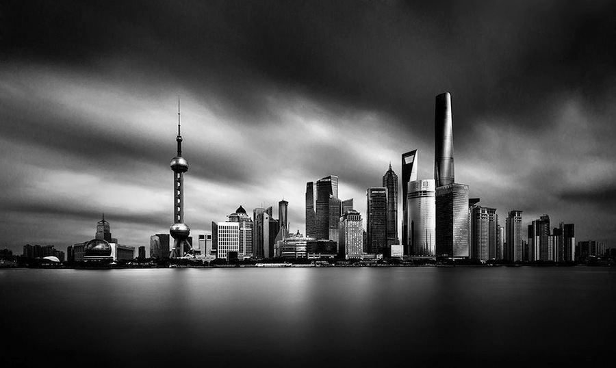 Shanghai Skyline by Amey Kandalgaonkar