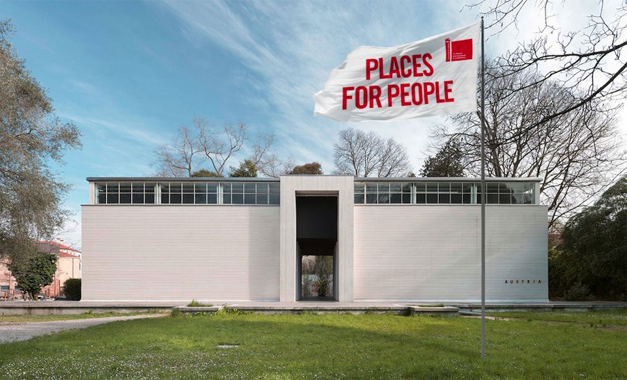 Austrian Pavilion - Places for People