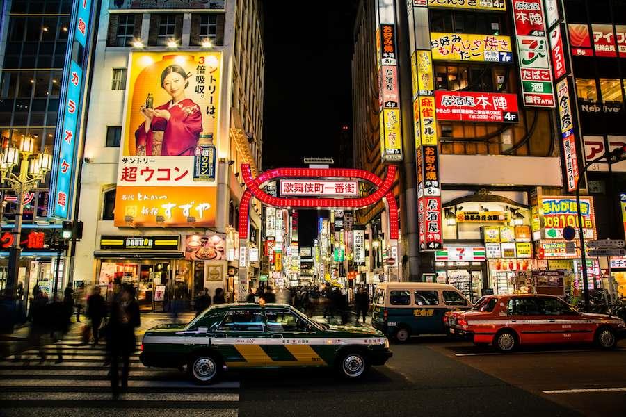 """""""Tokyo Nights"""" by Richard Schneider - Flickr CC"""