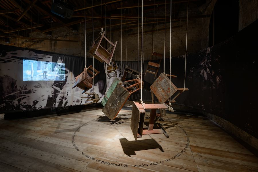Peru Pavilion @ Venice Biennale 2016 - Ph by Andrea Avezzù