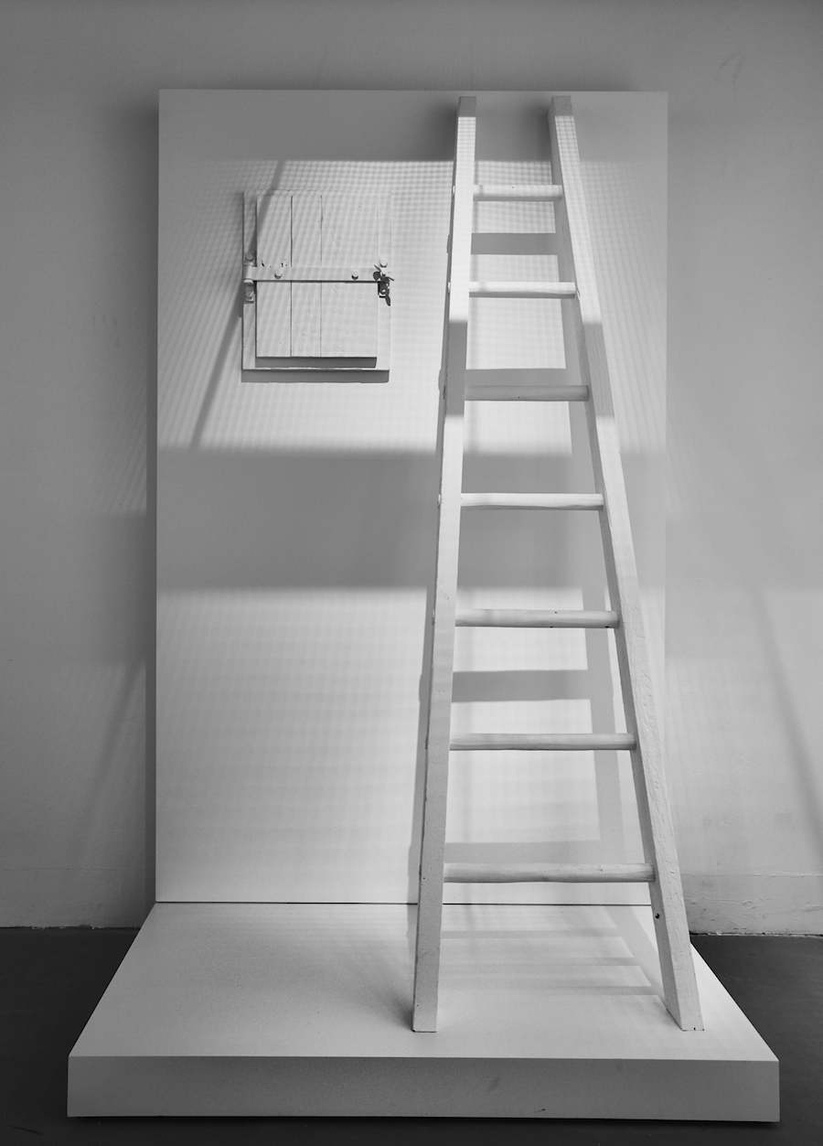 Model of gastight hatch in The Evidence Room. Photo by Fred Hunsberger.