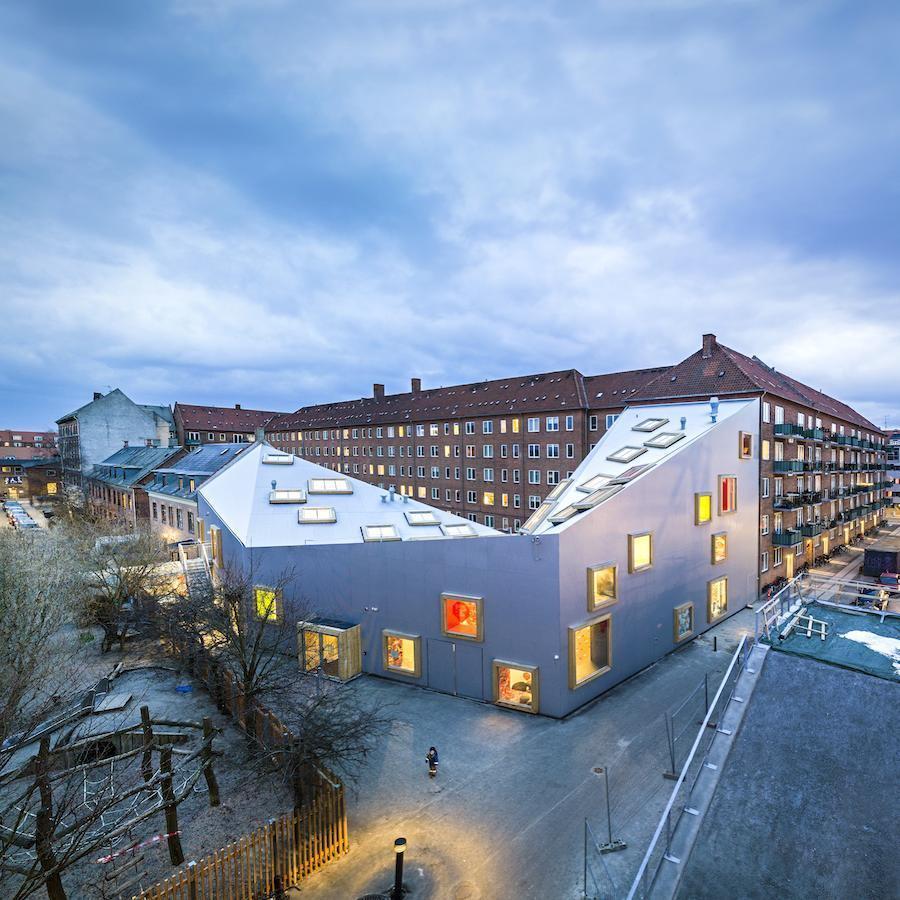 Plan of Ama'r Children Culture House by Dorte Mandrup Arkitekter - Courtesy of Dorte Mandrup Arkitekter.