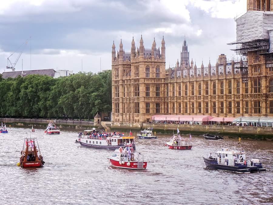 #BoatLeave protest on Wednesday 15 June 2016.
