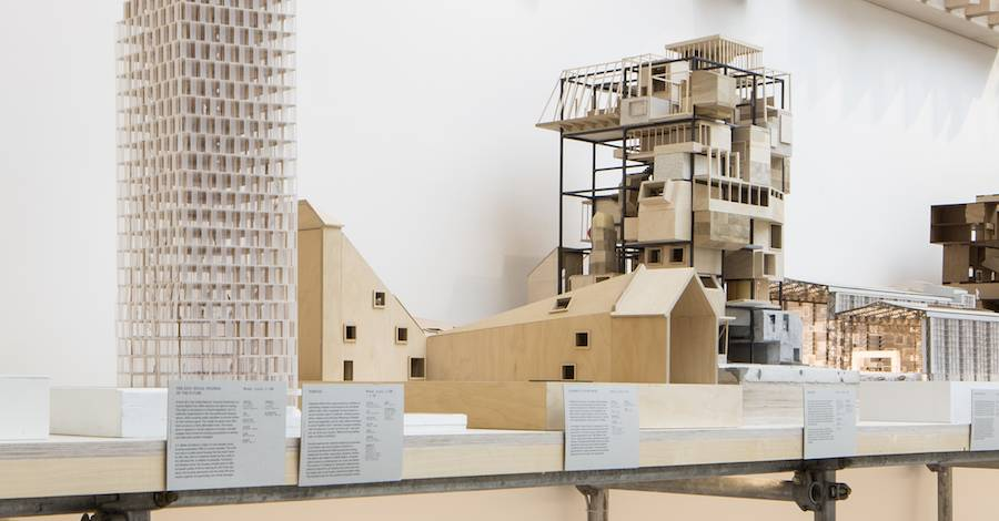 Model of Ama'r Children Culture House at the Denmark Pavilion, Venice - Photo by Francesco Galli.