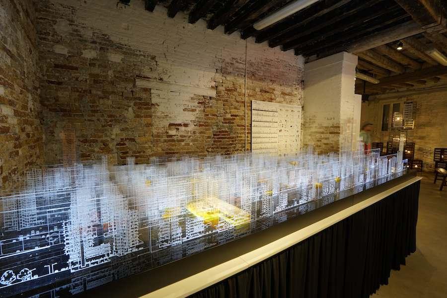 Hong Kong Pavilion - Jason Tang Installation.