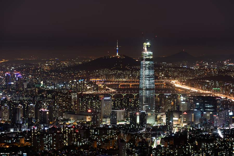 Night view of Seoul - Photo by sinano1000, Flickr CC.