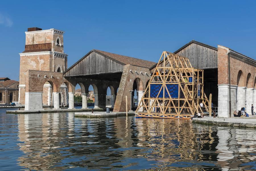Studio Nlé @ Venice Biennale - Ph by Jacopo Salvi.