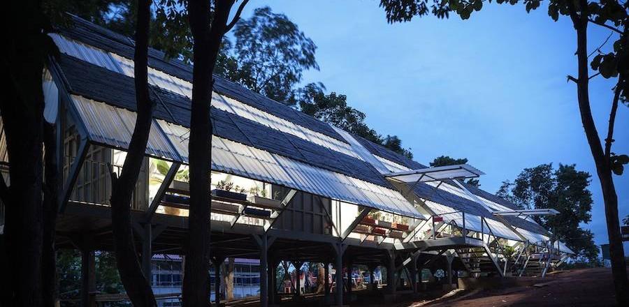 Thailand Pavilion Venice Biennale 2016 – Huay San Yao Witthaya School  by Vin Varavarn Architects.