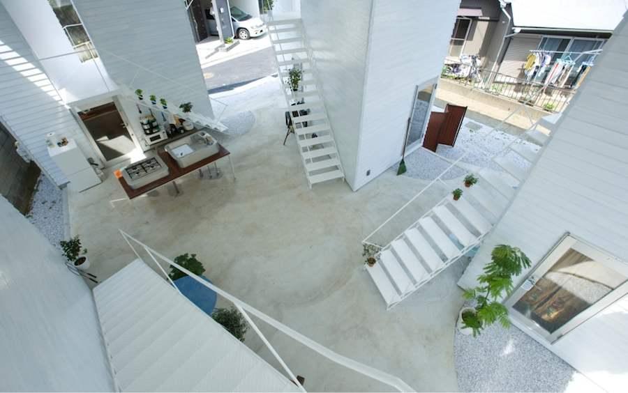 Yokohama apartments by Osamu Nishida and Erika Nakagawa - Photo © Koichi Torimura Courtesy of Japanese Pavilion