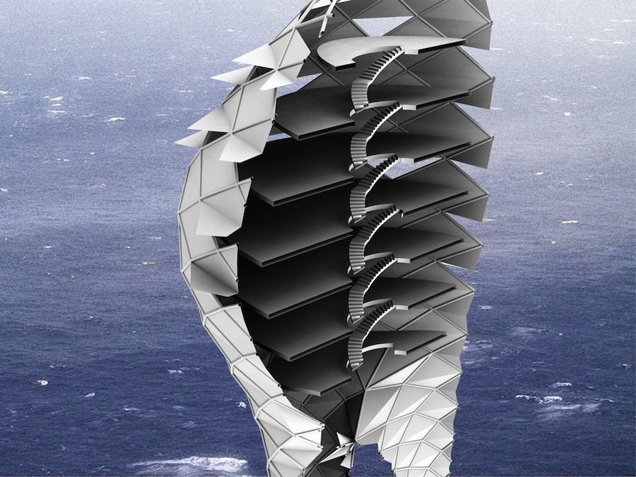 The Breathing Building - Image by Farah Farah and Motti Bodek.