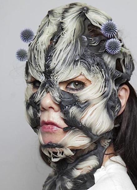 Björk's 3D printed mask