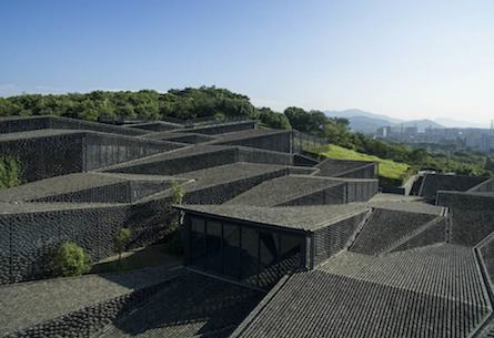 Kengo Kuma's Folk Art Museum in China