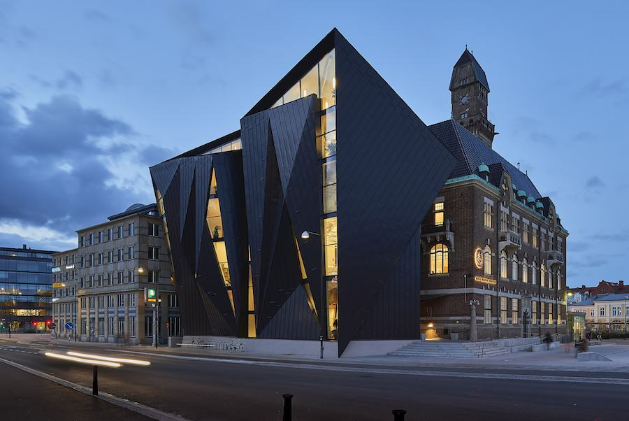 World Maritime University, Tornhuset by Terroir Pty Ltd.