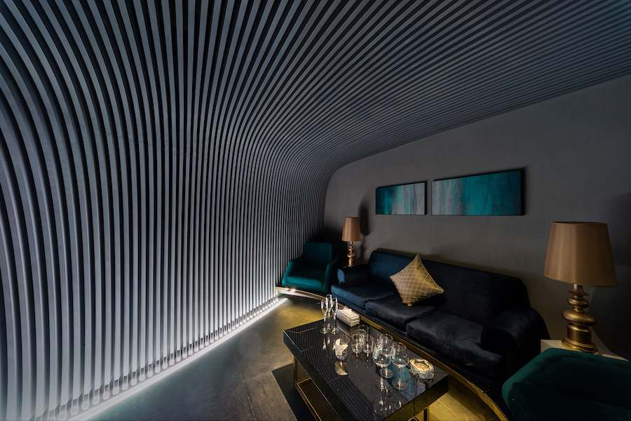 V+ Lounge by LYCS Architecture, 5th floor Corridor, 丨包间 - Photo by LYCS Architecture
