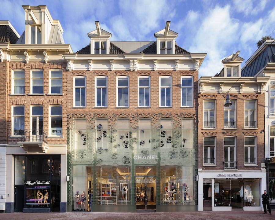 MVRDV: crystal houses, Amsterdam.