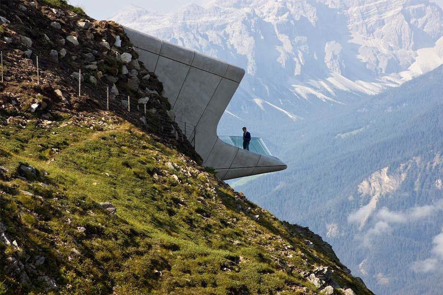 Messner Mountain Museum by Zaha Hadid Architects.