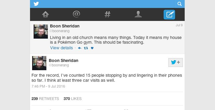 Boon Sheridan on Twitter, @boonerang.