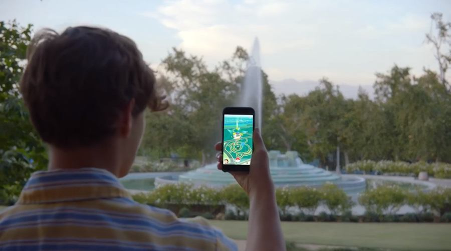 Pokemong Go - Screenshot from official trailer.