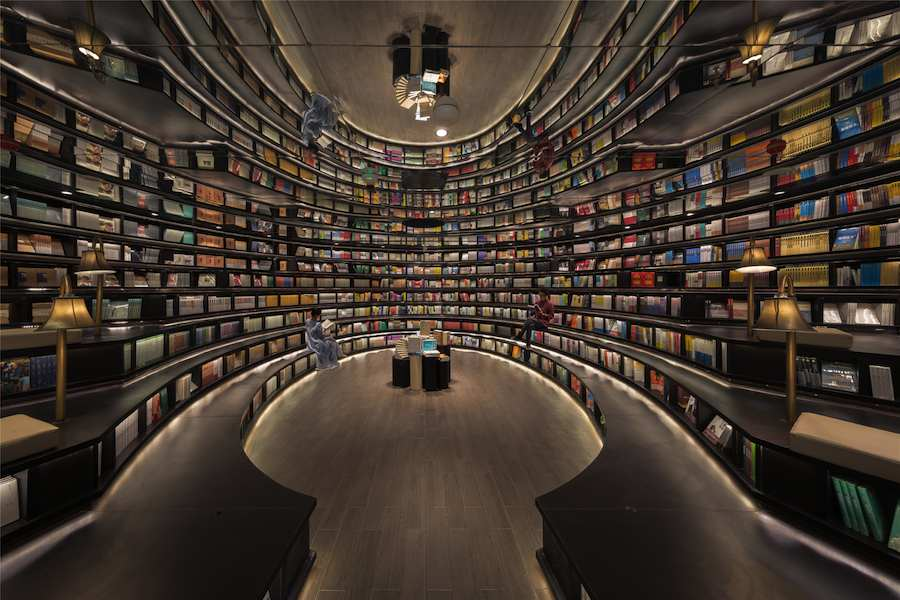 Zhonghuge bookstore by XL-Muse. Photo by Shao Feng - Courtesy of XL-Muse.