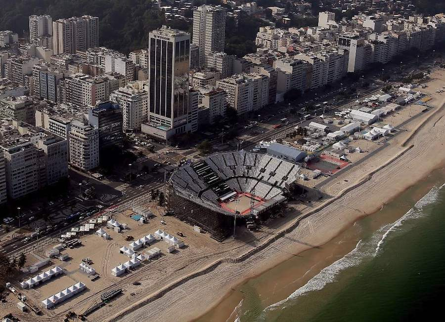 Beach Volleyball Arena in Copacabana - Ph. by Rio 2016.