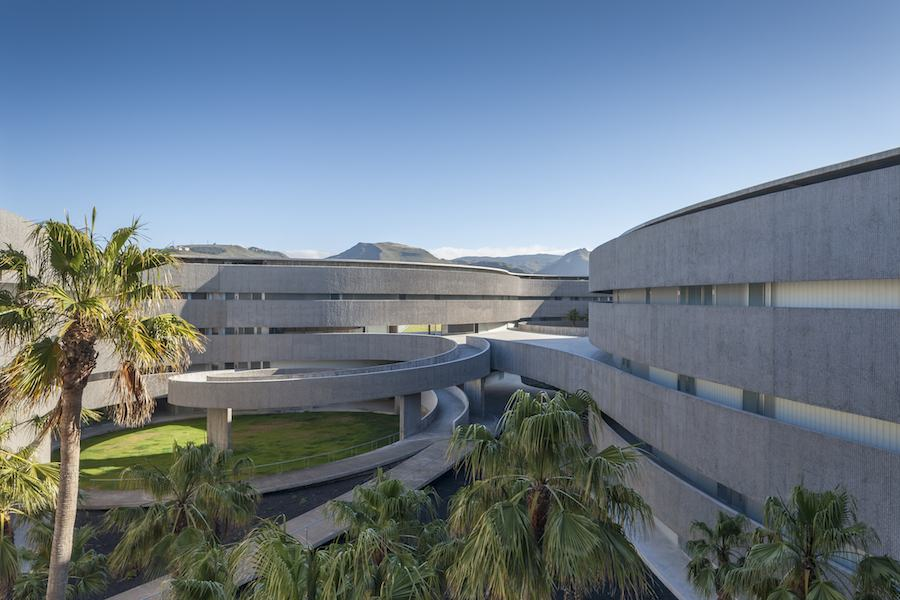 Faculty of Fine Arts , University of La Laguna by gpy arquitectos.