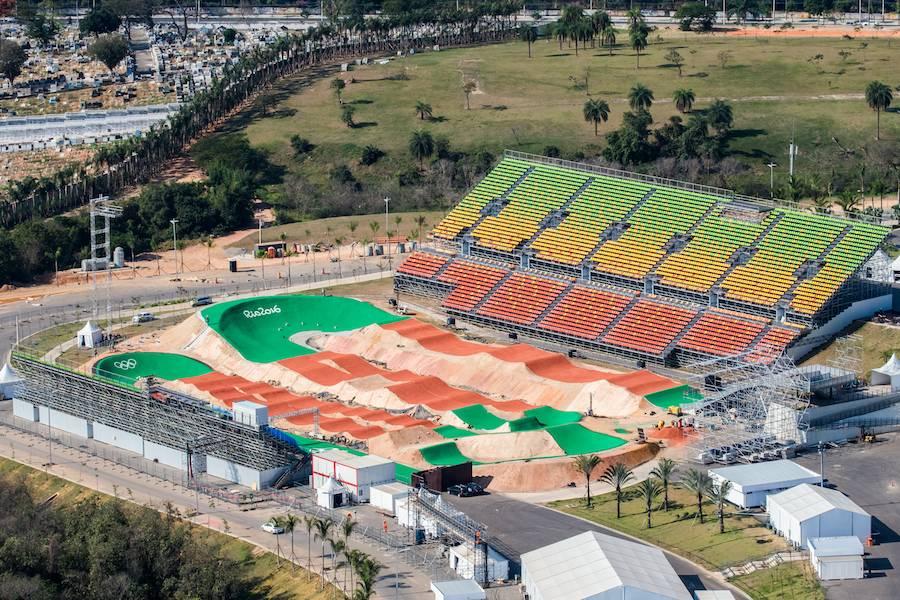 Zona A, BMX Olympic Centre - Photo: ©Gabriel Heusi, courtesy of Vigliecca & Associados.