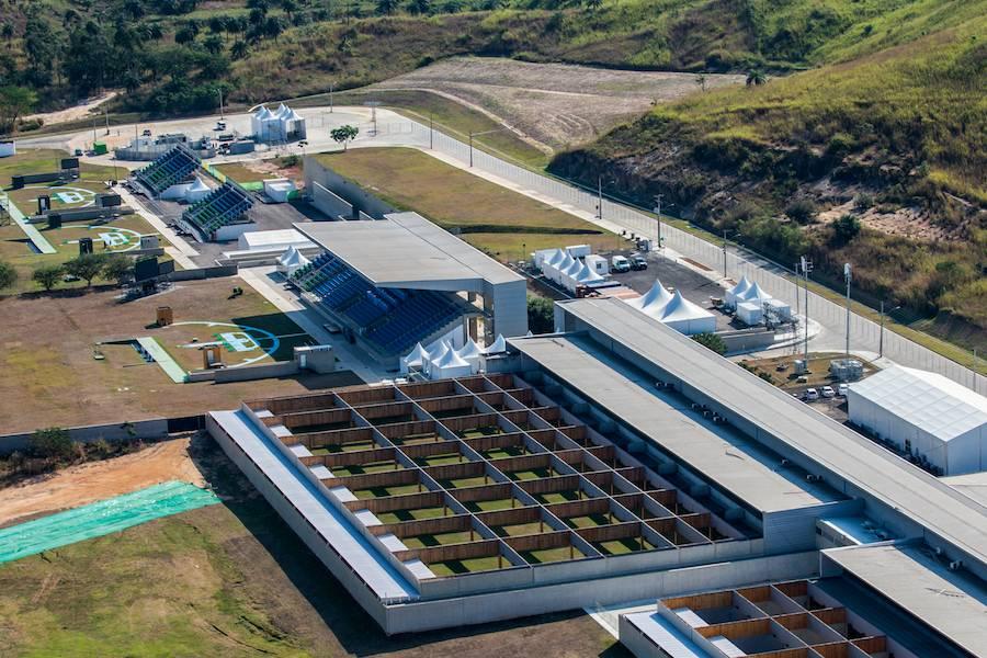 Zona B, National Shooting Centre - Photo: ©Gabriel Heusi, courtesy of Vigliecca & Associados.