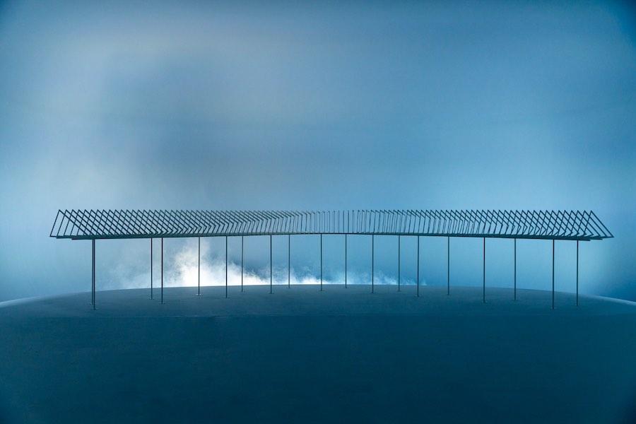 Icefjord Centre by Dorte Mandrup in Venice - Photo by Andrea Avezzù, courtesy of La Biennale di Venezia.
