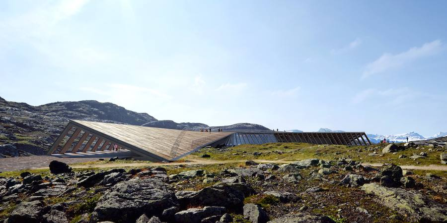 Icefjord Center by Dorte Mandrup - Image by MIR courtesy of Dorte Mandrup Arkitekter.