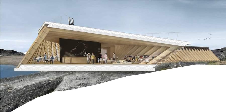 Icefjord Center by Dorte Mandrup - Image Dorte Mandrup Arkitekter.