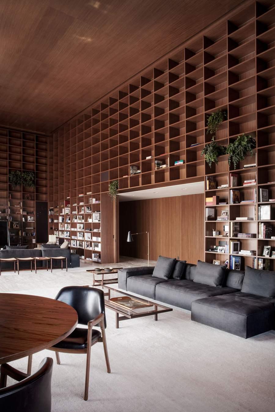MK27's Sao Paulo penthouse. Photo by Jonas Bjerre-Poulsen - Courtesy of MK27.