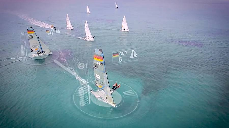 Germany Sailing Team teamed with Autodesk - Frame.