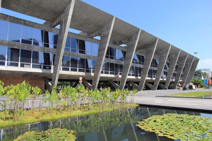 MAM - Museu de Arte Moderna do Rio de Janeiro.