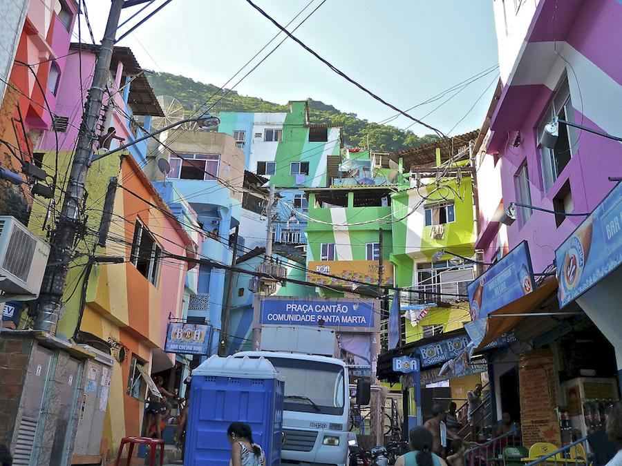 Santa Marta Favela - Photo by alobos Life Flickr CC.
