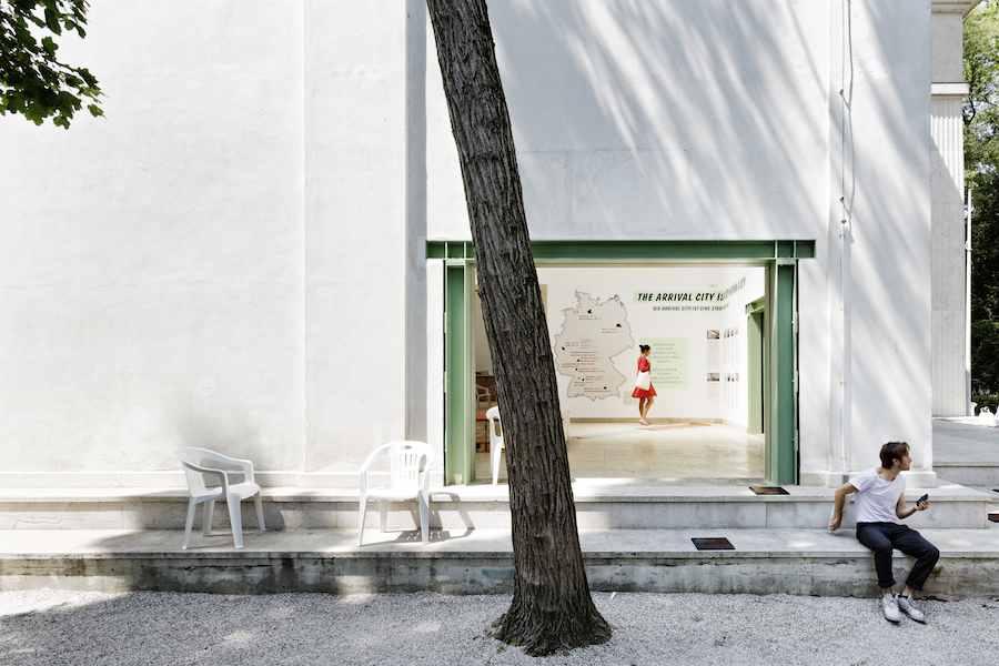 """Making Heimat. Germany, Arrival Country"" German Pavilion, 15th International Architecture Exhibition - La Biennale di Venezia 2016. Photo ©Kirsten Bucher"